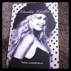 "Karl Lagerfeld ""Claudia Schiffer"" Hardcover book"